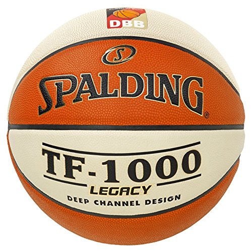 Spalding Basketball TF1000 Fiba Women 74-588z, Orange, 6