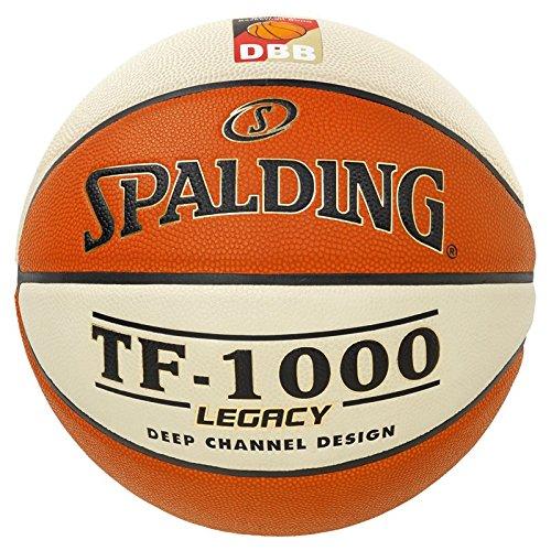 Spalding Basketball TF1000 Fiba Women 74-588z Ball, orange/Weiß, 6