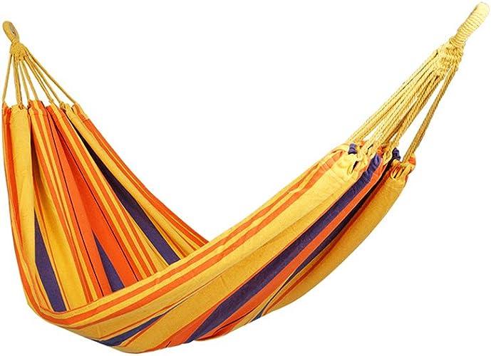 Gaoyantong Hamac extérieur, Confortable et Facile à Transporter, Double Camping de Loisirs, 200  100cm