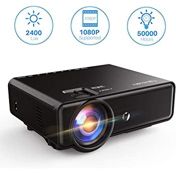 Built-in Stereo Speaker Pyle Full HD 1080p Mini Portable Pocket Video /& Cinema Home Theater Projector Digital Multimedia PRJG48 USB /& VGA Inputs for TV PC Game Business Computer /& Laptop LCD+LED Lamp HDMI