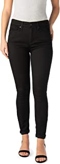 Signature Women's High Rise Ankle Skinny 5 Pocket Cuff Jeans