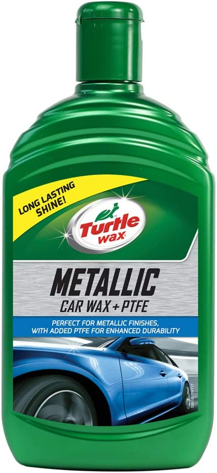 Turtle Wax 52653 Metallic Wax Flüssiges Autowachs Feinpolitur 500ml Auto