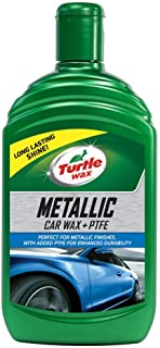 Turtle Wax 52653 Metallic Wax Cera Líquida Cera Fina para Pulir 500Ml