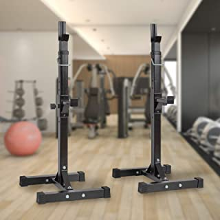 Barbell Rack Stand Squat Rack Cap Barbell Dumbell Rack Gym Bench Press Squat Bench Press Rack Dipping Station Dip Stand Fi...
