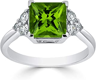 Best peridot and diamond engagement ring Reviews