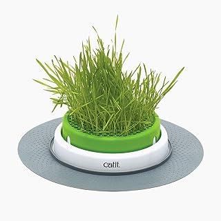 Catit Grass Planter, White/Green