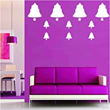 Kayra Decor Hanging Bells Reusable DIY Wall Stencil Painting for Home Decoration (PVC, 16-inch x 24-inch)