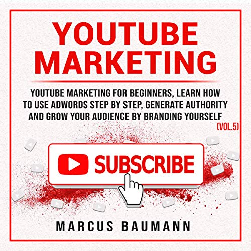 Youtube Marketing audiobook cover art