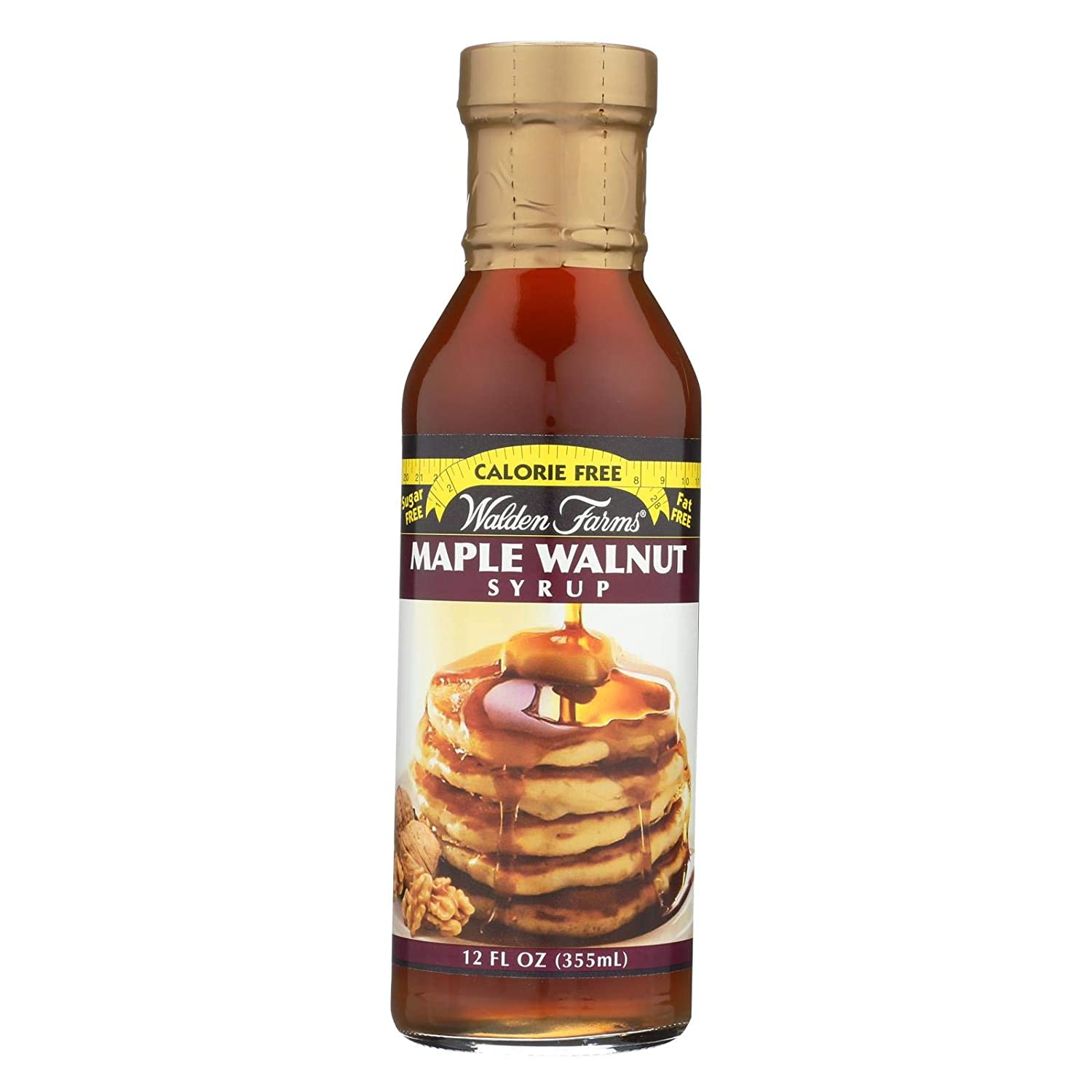 WALDEN FARMS, SYRUP, MAPLE WALNUT - Pack of 6