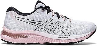ASICS Women's Gel-Cumulus 22 Running Shoes, 6M, White/Ginger Peach