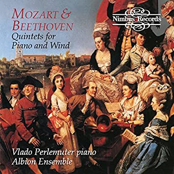 Beethoven & Mozart: Quintets for Piano and Wind