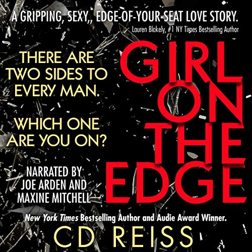 Girl on the Edge audiobook cover art