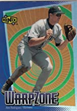 2000 Upper Deck Ionix Warp Zone #12 Alex Rodriguez #12 NM Near Mint