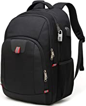 "Della Gao Extra Large Anti Theft 17"" Laptop Backpack"