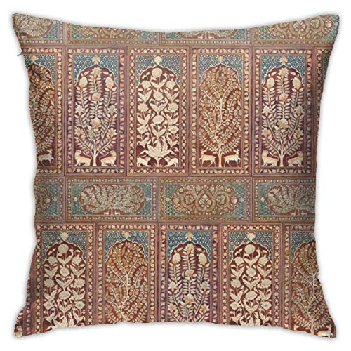 N\A Nonsuch Palace Paneles de Madera Funda de Almohada Cojín de Tiro Suave Funda de Almohada de sofá de impresión Digital de Doble Cara