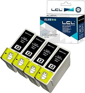 LCL EPSON用 エプソン用 IC1BK13 (4パック ブラック) 互換インクカートリッジ 対応機種:PM-730C PM-740C PM-740DU PM-830C PM-840C PM-850PT PM-860PT
