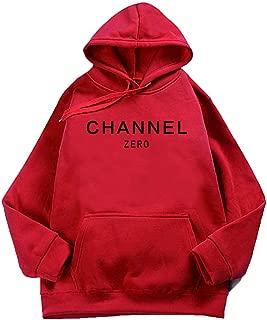 2018 Sweatshirt Warm Winter Hoodies Long Sleeves Sweats Clothing Lovers Autumn Fleece Channel Zero