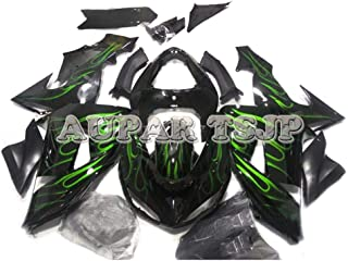 Complete Motorcycle Fairings for ZX10R 2006 2007 Year Injection ABS Plastic 06 07 Motorbike Covers Body Work Panels Kits Black Green