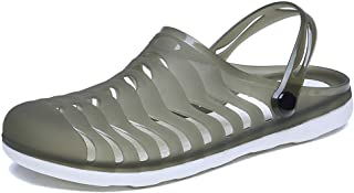 YIRUIYA Unisex Garden Clogs Breathable Outdoor Walking Beach Sandals Lightweight Summer Slippers