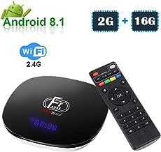 Greatlizard A95XF1 Android 8.1 TV Box 2GB RAM 16GB ROM Quad Cord 4K HD 2.4G WiFi