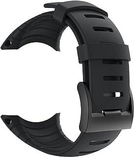 patrohoo Suunto Core Strap, Rubber Replacement Watch Band for Suunto Core SS014993000