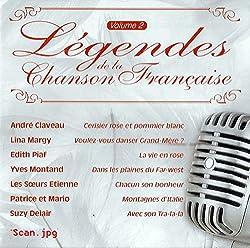 LEGENDES DE LA CHANSON FRANCAISE VOLUME 2