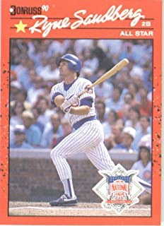 1990 Donruss # 692A Ryne Sandberg AS Chicago Cubs Baseball Card