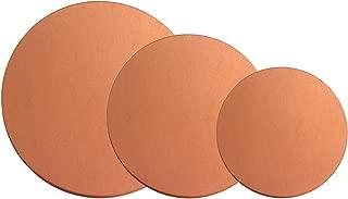 copper circle blanks