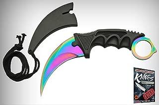 Tactical Neck Elite Knife Rite Edge 7.5