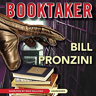The Booktaker audiobook cover art