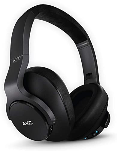 wholesale AKG N700NC M2 Wireless Ear Cup (Over The Ear) outlet sale Headphone - high quality Black outlet online sale