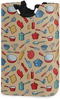 Paniers à linge de salle de bain Cuillère Fourniture de cuisine Outils de restauration Panier à linge pour hommes Organisa...