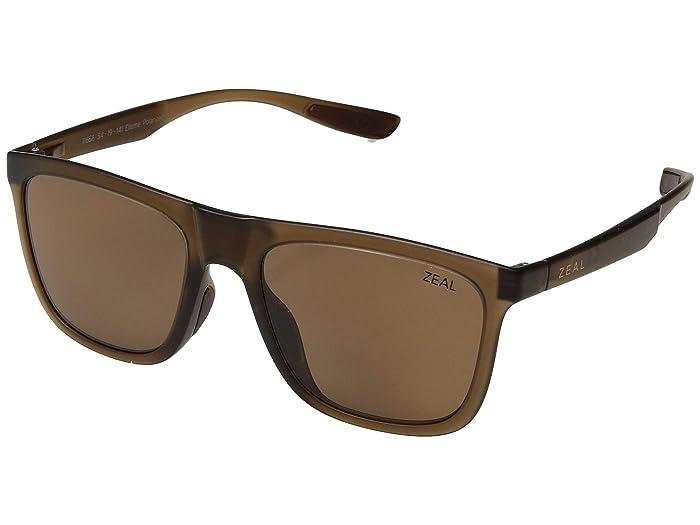 Zeal Optics  Boone (Maple/Polarized Copper Lens) Fashion Sunglasses