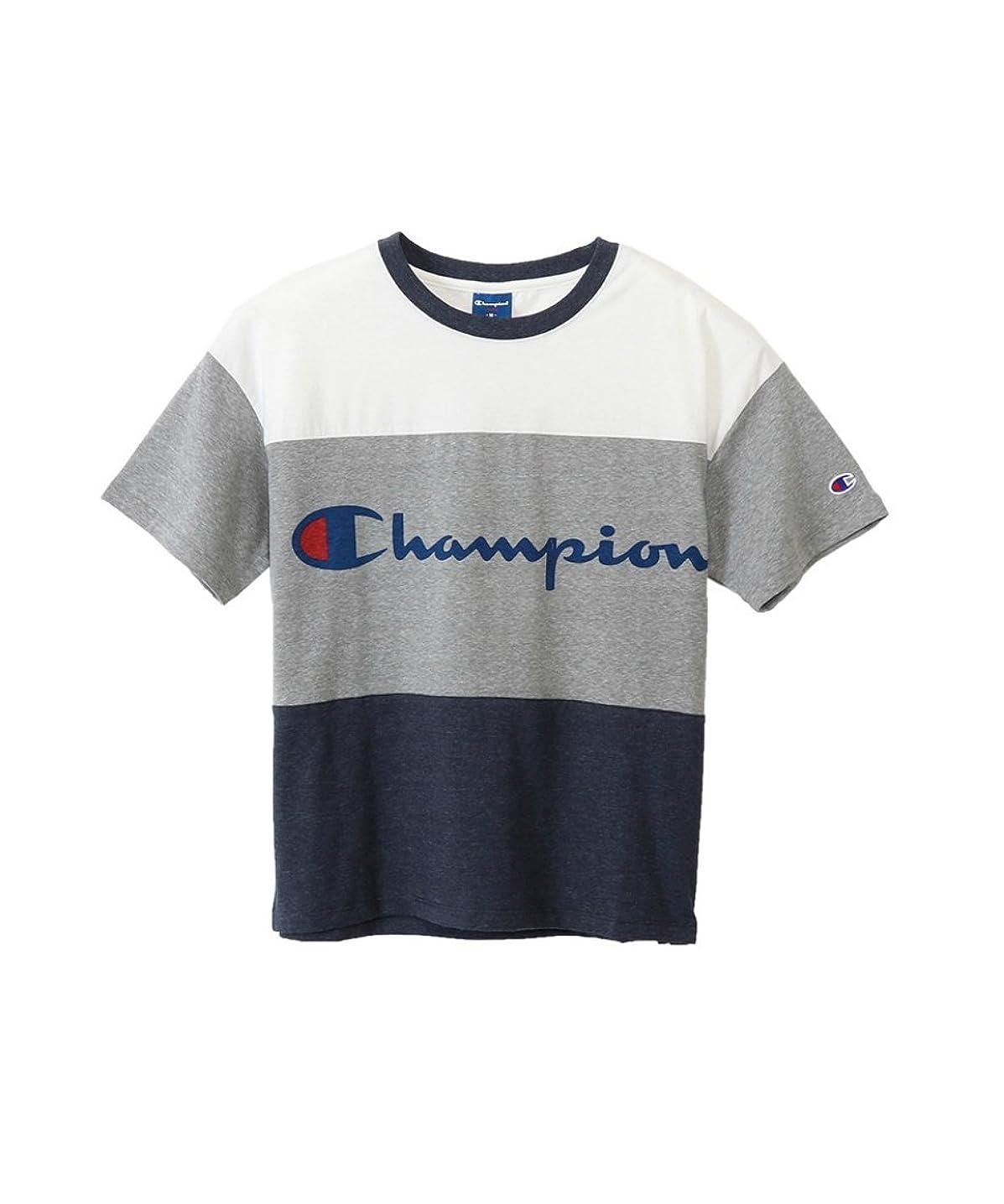 上記の頭と肩飾る量[チャンピオン] Tシャツ CW-MS326