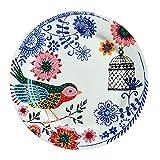 YUWANW Apenada Vintage | país francés vajilla de cerámica Carrefour espíritu pájaro...