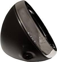 Emgo Lucas Style 7in. Side Mount Headlight Shells - Black 66-65068
