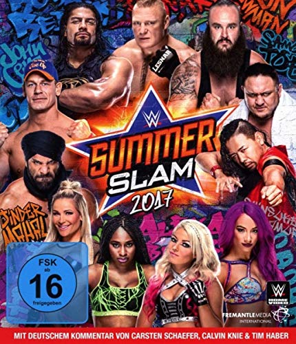 WWE - SUMMERSLAM 2017 [Blu-ray]