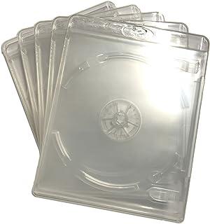 (KGシリーズ) ブルーレイケース 1枚収納 5PACK / スーパークリア / 【12.5mmサイズ】 【ロゴ:Blu-rayDisc】 【1枚収納】 【スーパークリア】