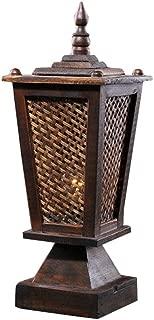 Thai Style Home Lighting Living Room Bedroom Warm Bedside Lamp Retro Lighting Bedside Desk Light
