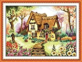 J-Love Awesocrafts Country Cabin Houses Flores Árboles Patrones...