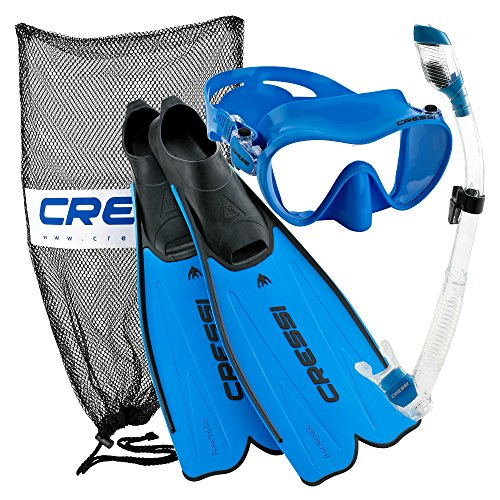 Cressi Rondinella Full Foot Mask Fin...
