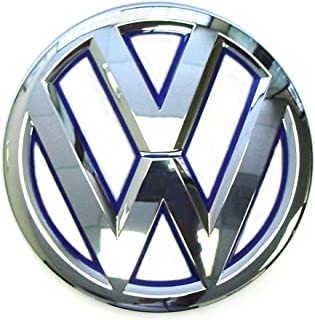 Genuine VW Front Grille Emblem Jetta-Hybrid 2013-2014 with Blue Inset 5C6853601DLIP