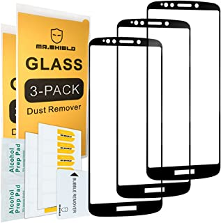 [3-Pack]-Mr.Shield for Motorola (Moto E5 Supra) [Full Cover] Screen Protector with Lifetime Replacement