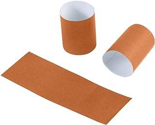Gmark Paper Napkin Band Box of 500 (Rust), Paper napkin rings self adhesive GM1053A