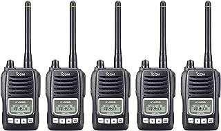 アイコム デジタル簡易無線(登録局)5Wタイプ IC-DPR6 5台セット