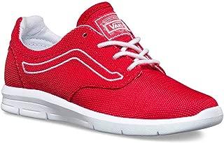 Vans Boys VN0A2XRMJVU Boy's Iso 1.5 (Varsity) Racing Red/White