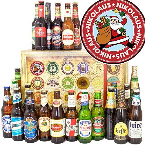 Nikolaus + Bier aus der Welt 24x + Nikolaus Geschenkbox