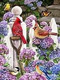 Cardinal Friends Puzzle Pieces