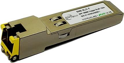 Optical SNS SFP-1G-FE-E-T Compatible for Juniper SFP-1G-FE-E-T 1000BASE-T SFP RJ45 100m Transceiver Module