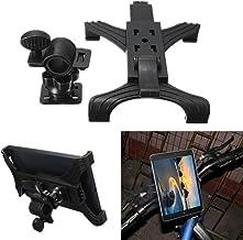 Behavetw Soporte para Manillar de Motocicleta para iPad Tablet, Soporte Universal Ajustable para Manillar de Bicicleta/Soporte de música para Tableta de 7